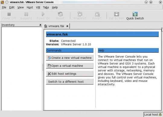captura vmware 1.x en openSuse 11.2
